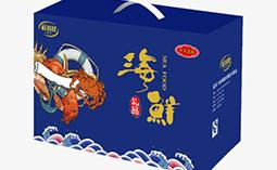 海鲜大礼包盒定制工厂